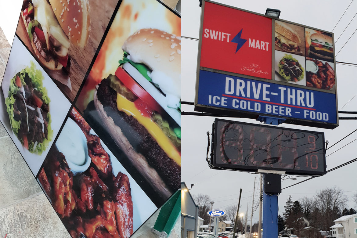 Swift Mart Outdoor Sign