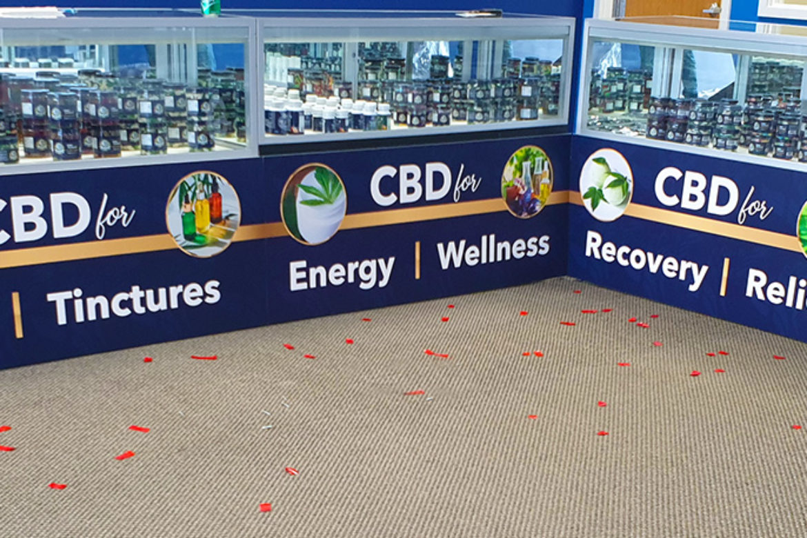 Your Cure CBD Stores Indoor PVC Signs